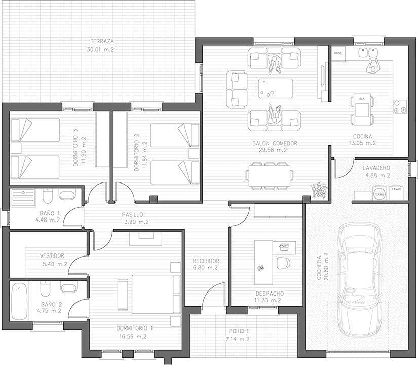 diseño casa alicante