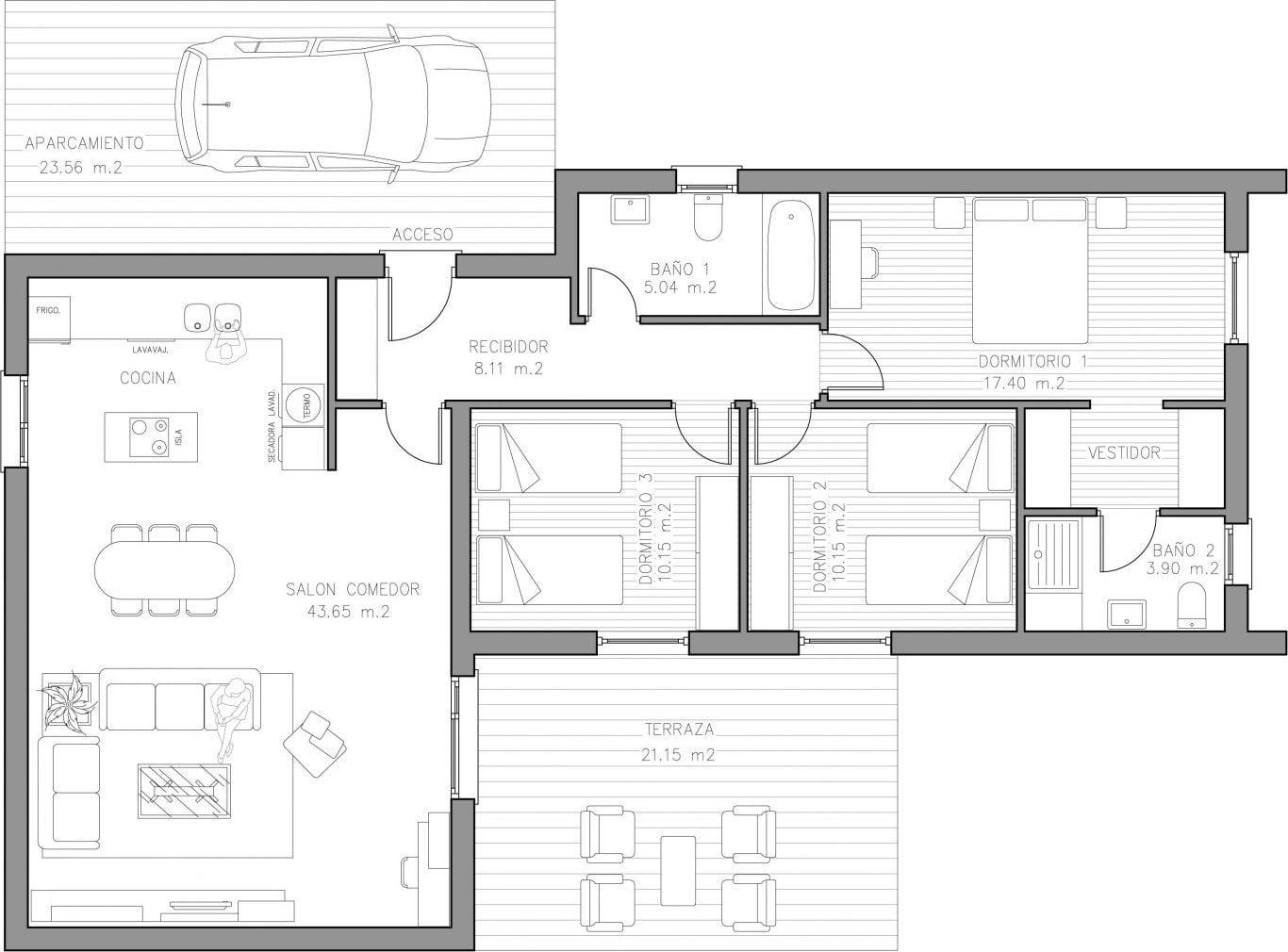 plano casa tarragona