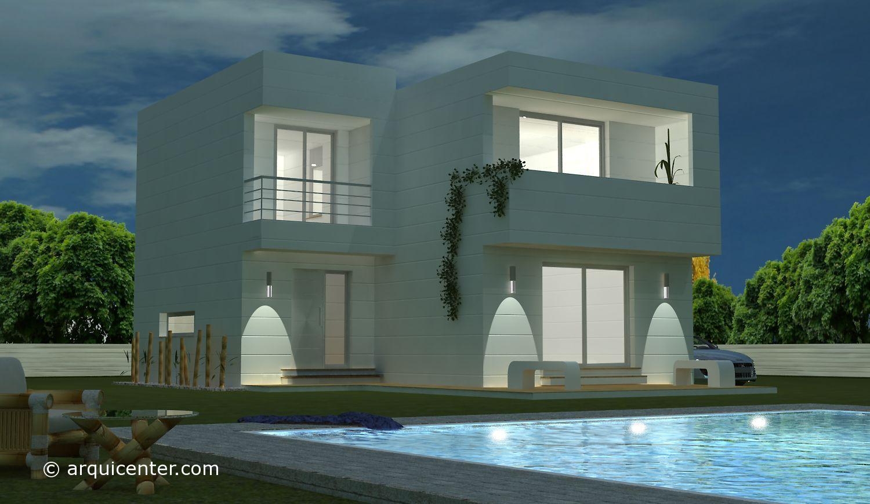 diseño casa moraleja