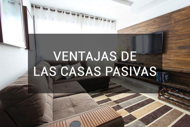 ventajas de una casa pasiva