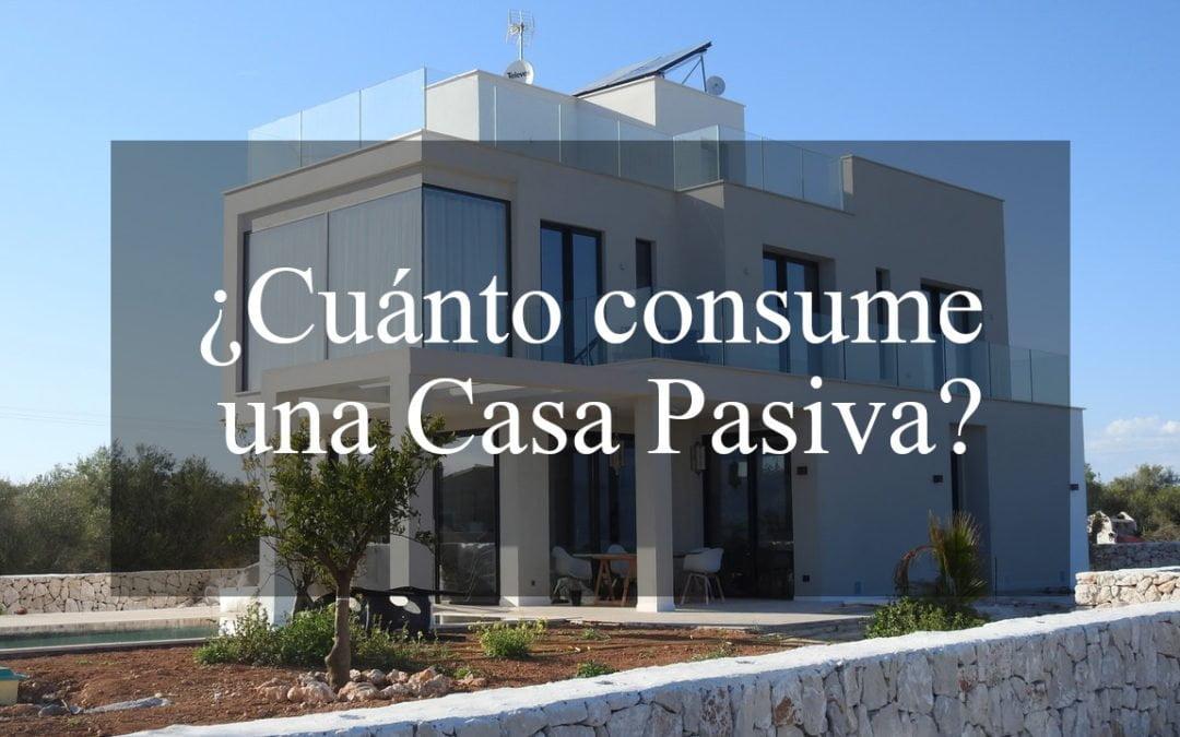 ¿Cuánto consume una casa pasiva?