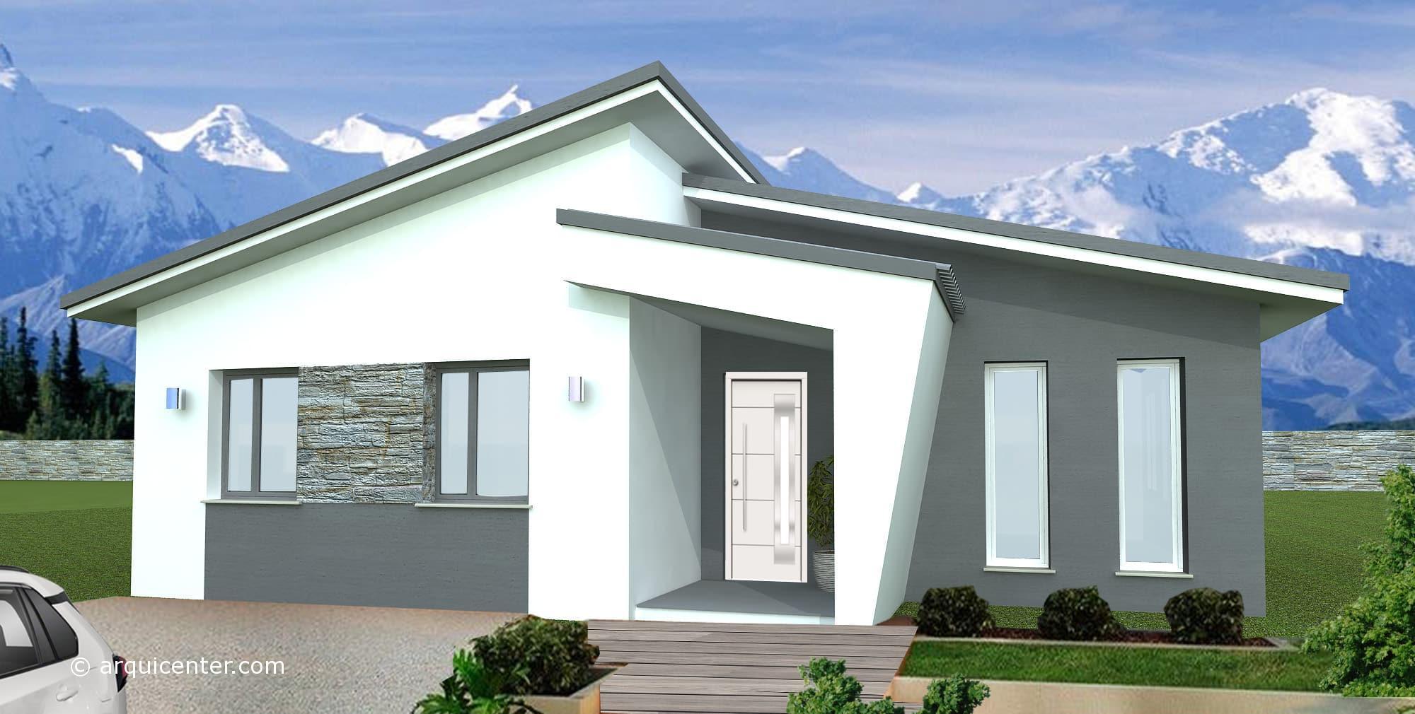 Diseño exterior casa Menorca