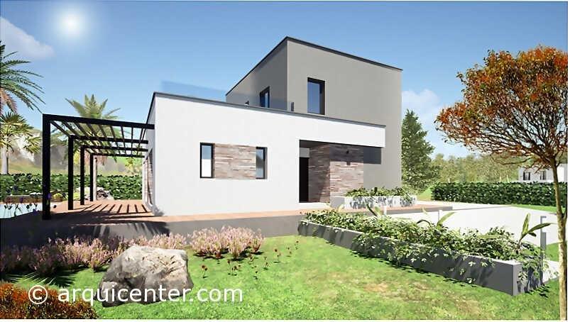 69 Arquicenter Passivhaus Pep Fachada Certificado ECCN Casa Mediterranea - Imagen4